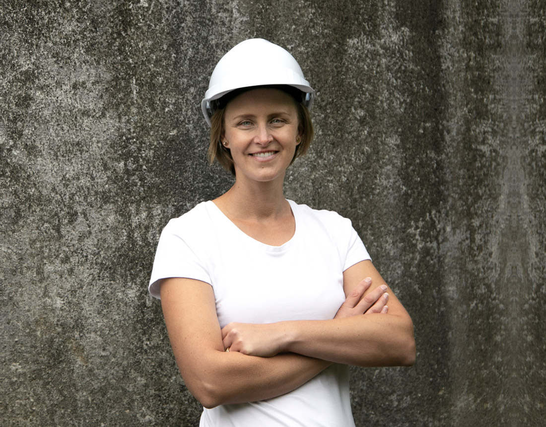 On site with Robyn Johnson, Director, Blend ESQ Consulting