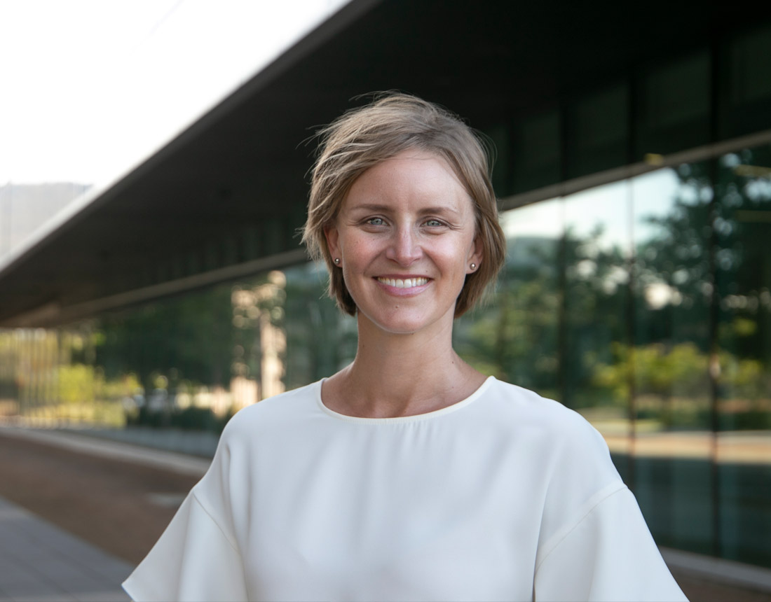 Robyn Johnson, Blend ESQ Director at the Wollongong University Innovation Campus